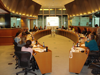 Picture from the European Parliament