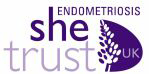 Logo from Endometriosis SHE Trust UK