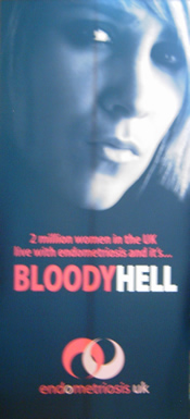 Endometriosis UK's campaign, BloodyHell