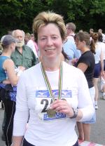 Diana Wallis marathon