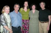 Dr Susan Treloar, Dr Grant Montgomery, Dr Krina Zondervan, Dr Stacey Missmer, and Dr Stephen Kennedy